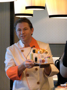 Chef Jacques Van Staden - Qsine Restaurant - Celebrity Cruises - Eclipse - Photo by Luxury Experience