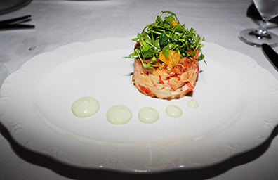 Lobster Cake - The Chandler Steakhouse - MGM Springfield - photo by Luxury Experience