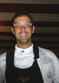Chef Riccardo Bertazzoni of Di Vino by the Glass, Riviera Maya, Mexico