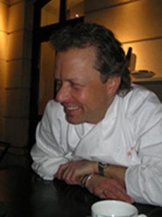 Chef Bobby Brauer of Die Quadriga in Berlin, Germany