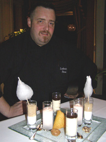 Executive Chef Ludovic Pitrel -Restaurant Eden - Zurich, Switzerland