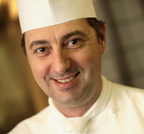Chef Frederic Breuil of Badrutt's Palace in St. Moritz, Switzerland