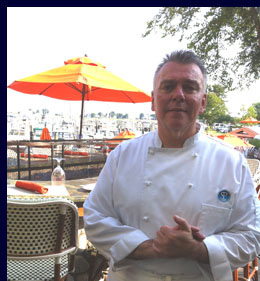 Chef Leslie Tripp of Fresh Salt at Saybrook Point Inn & Spa, Old Saybrook, CT, USA