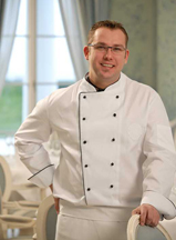Chef Ronny Siewart of Friedrich Franz of Grand Hotel Heiligendamm, Germany