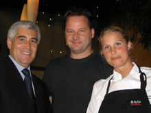 Edward F. Nesta, Executive Chef and Owner Anders Dahlbom, Master Chef Karin Andersson