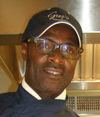 Owner/Chef Colin Lloyd of Greg's Steakhouse, Hamilton, Bermuda