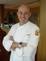Chef Thomas Kammeier of HUGOS Restaurant, Berlin, Germany