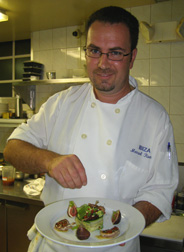 Executive Chef Manuel Romero of Ibiza Restaurant in New Haven, Connecticut - Photo by Luxury Experience