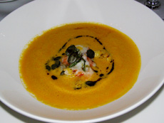 Thai Pumkin Cream Soup