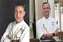 Chef Jordi Gallardo, Chef Mitchell Eldridge
