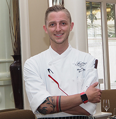 Chef Mitchell Eldridge - Juniper - Farimont Washington, DC - photo by Luxury Experience
