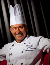 Executive Chef Jean-Claude Crouzet of L'Astral Bar-Restaurant Rotatif - Loews Hôtel Le Concorde, Quebec, Canada