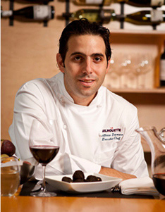 Chef Matt Tropeano of La Silhouette restaurant NYC