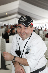 Executive Chef Alain Pignard of Fairmont The Queen Elizabeth, Montreal, Canada at Grand Prix du Canada