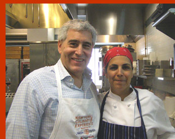 Chef Einat Admony and Edward Nesta - photo by Luxury Experience