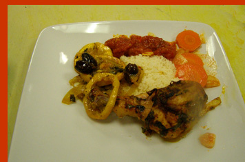 Chicken Tagine with Cous Couse and tunisian Carrots Chef Einat Admony - New York Culinary Experience - photo by Luxury Experience