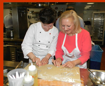 Chef Paula Corrigan, Debra C. Argen - New York Culinary Experience - photo by Luxury Experience
