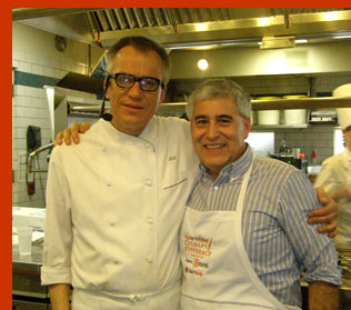 Chef Kurt Gutenbrunner, Edward Nesta - New York Culinary Experience - photo by Luxury Experience