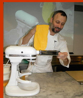 Chef Chris Jaeckle - New York Culinary Experience - photo by Luxury Experience