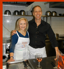 Chef David Lebovitz, Debra Argen - New York Culinary Experience - photo by Luxury Experience