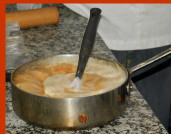Hot Caramel - Chef François Payard - New York Culinary Experience - photo by Luxury Experience