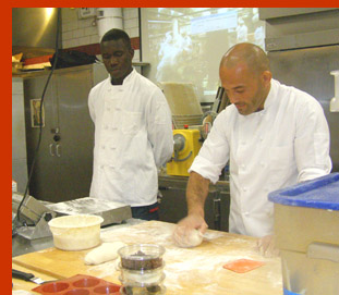 Abou Konate, Baker Kamel Saci  - New York Culinary Experience - photo by Luxury Experience