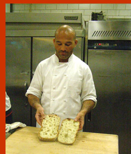 Baker Saci with Ciabatta  - New York Culinary Experience - photo by Luxury Experience