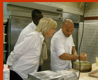 Gillian Duffy, NY magazing, Baker Kamel Saci  - New York Culinary Experience - photo by Luxury Experience
