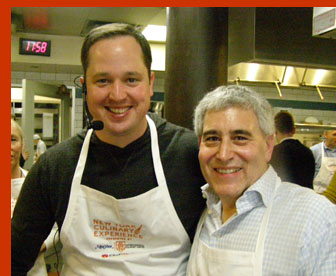 Chef Bryce Shuman, Edward Nesta - New York Culinary Experience - photo by Luxury Experience
