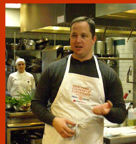 Chef Bryce Shuman  - New York Culinary Experience - photo by Luxury Experience