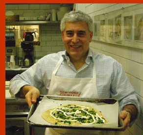 Edward Nesta with Tarte Flambe  - New York Culinary Experience - photo by Luxury Experience
