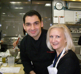 Executive Chef Christophe Bellanca and Debra Argen - New York Culinary Experience - Photo by Luxury Experience