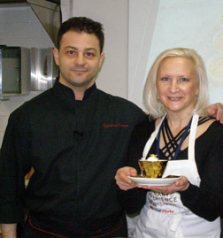 Chef Salvatore Martone and Debra Argen - New York Culinary Experience - Photo by Luxury Experience