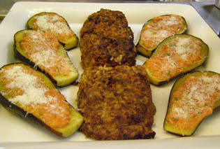 Finished Eggplant and Meatloaf - Chef Michel Nischan New York Culinary Experience - Photo by Luxury Experience