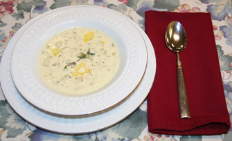 New England Clam Chowder - photo by Luxury Experience