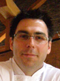 Chef Francois Blais of Panache Restaurant, Quebec City, Canada