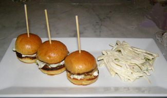 Oyster Po Boys - Parlour at Roger Hotel New York - photo by Luxury Experience