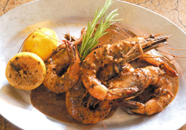 Barbecue Shrimp from Ralph Brennan's New Orleans Seafood Cookbook