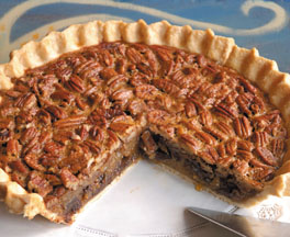 Chocolate Bourbon Pecan Pie from Ralph Brennan's New Orleans Seafood Cookbook