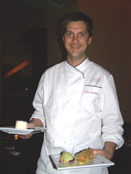 Executive Chef Jimmy Lappalainen of Riingo at The Alex Hotel, New York