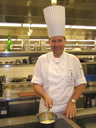 Chef Olivier Rast of Rive Gauche Restaurant and Bar at the Baur au Lac, Zurich, Switzerland