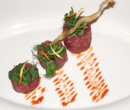 Tuna Tartar with Citrus Zest and Ginger