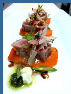 Seared Tuna - River Cafe, Puerto Vallarta, Mexico - photo by Luxury Experience