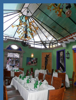 Dining Room - River Cafe, Puerto Vallarta, Mexico