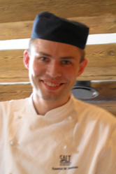 Executive Chef Rasmus Moller Nielsen - SALT Bar-Restaurant - Copenhagen, Denmark