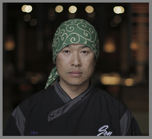 Head Sushi Chef Hiro Sawatari - Sen NYC Restaurant