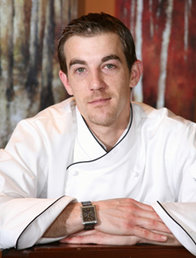 Chef Chad Shrewsbury of Six Peaks - Resort at Squaw Creek, Olympic Valley, California, USA