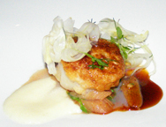 Sixteen Restaurant at Trump International Hotel and Tower Chicago - Diver Scallop
