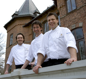 The Chefs of Sofiero Palace Restaurant, Helsingborg, Sweden