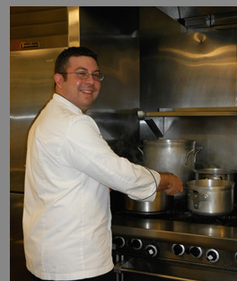 Chef Steve Batur - photo by Luxury Experience